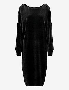 Ladies dress, Vivia - sukienki do kolan i midi - black