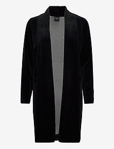Ladies dressing gown, Vivia - bathrobes - black