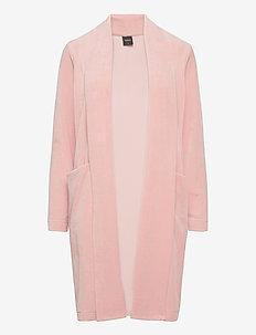 Ladies dressing gown, Vivia - badrockar - light pink
