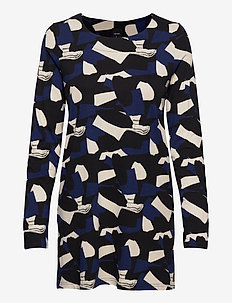 Ladies tunic, Paletti - short dresses - blue-toned