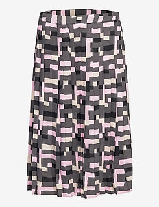 Ladies skirt, Pino - spódnice do kolan i midi - grey