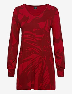 Ladies tunic, Pidot - tuniques - red