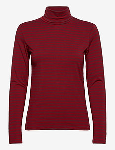 Ladies high neck, Jamit - långärmade toppar - red