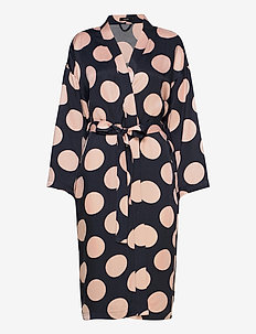 Ladies dressing gown, Lyyli - badekåber - night blue