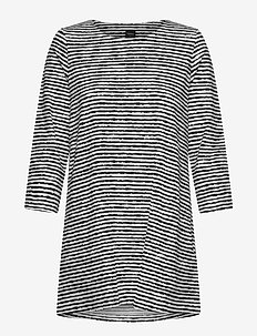 Ladies tunic, Aprilli - tunieken - black and white