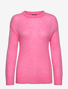 Ladies knit sweater, Tua - tröjor - pink