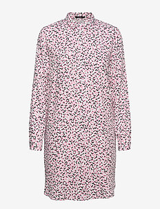 Ladies shirt, Pätkät - everyday dresses - pink