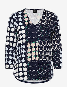 Ladies blouse, Oivallus - långärmade blusar - blue