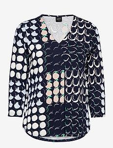 Ladies blouse, Oivallus - blouses met lange mouwen - blue