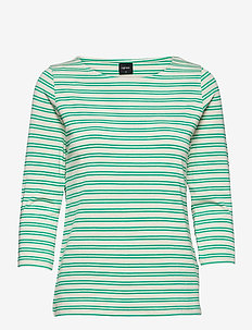 Ladies blouse, Virna - tops met lange mouwen - green