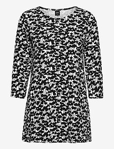 Ladies tunic, Liito - tunics - black-white