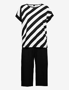 Ladies pyjamas, Kulma - pyjamas - black and white