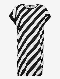 Ladies big shirt, Kulma - nachtjurken - black and white