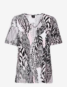 Ladies pyjamas, Suurennuslasi - overdele - light pink