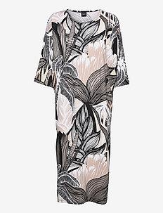 Ladies kaftan, Tropiikki - nightdresses - brown
