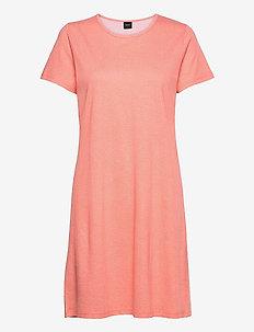 Ladies big shirt, Pilkut - nightdresses - red