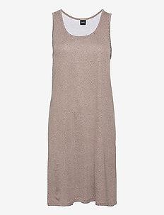 Ladies big shirt, Pilkut - nachtjurken - brown