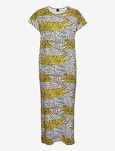 Ladies short nightgown, Lianna - nightdresses - yellow