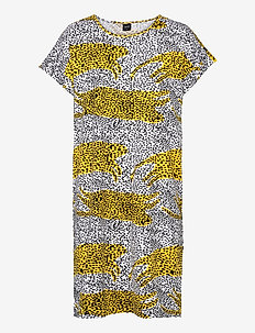 Ladies big shirt, Lianna - nachtjurken - yellow