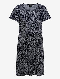 Ladies' dress, Rantakukat - nachtjurken - dark blue