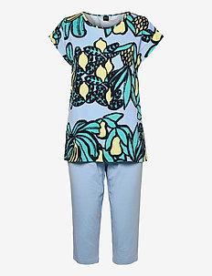 Ladies pyjamas, Samba - pyjamas - blue