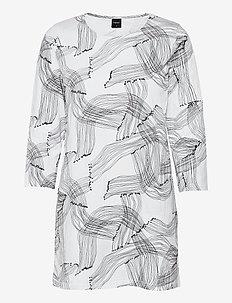 Ladies tunic, Narunen - tunieken - black-white