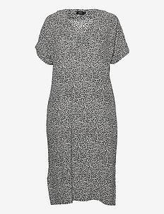 Ladies dress, Silmu - zomerjurken - black-white