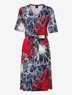 Ladies dress, Kirsikka - nachtjurken - multicoloured