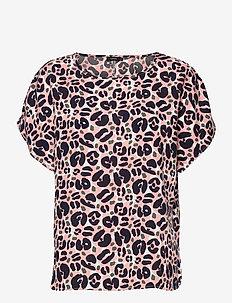 Ladies shirt, Lulu - blouses met korte mouwen - light pink