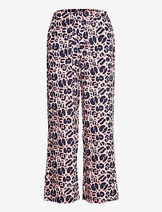 Ladies trousers, Lulu - uitlopende broeken - light pink