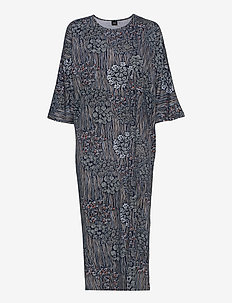 Ladies kaftan, Kielo - natkjoler - dark blue