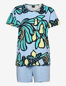 Ladies shorts pyjamas, Samba - pyjama''s - blue
