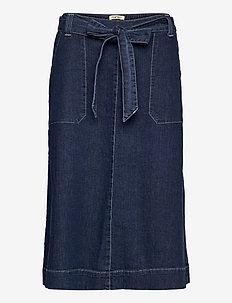 Ladies skirt, Aalto - denimskjørt - denim blue