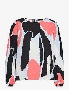 Ladies blouse, Särö - blouses met lange mouwen - multicoloured