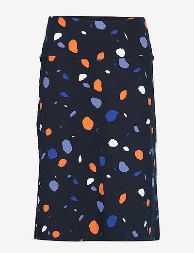 Ladies skirt, Pyörre - midinederdele - blue