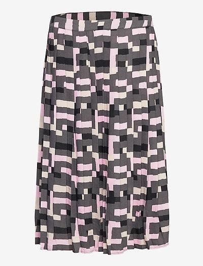Ladies skirt, Pino - midinederdele - grey