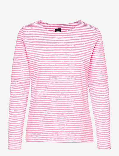 Ladies blouse, Aprilli - langærmede toppe - pink