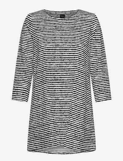 Ladies tunic, Aprilli - tunikaer - black and white