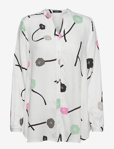 Ladies shirt, Vuokko - langærmede bluser - natural white