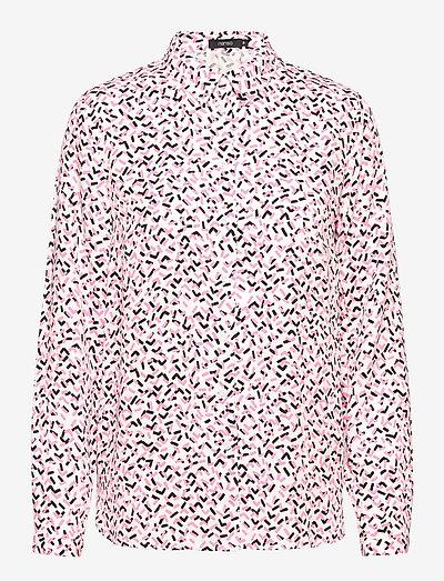 Ladies blouse, Pätkät - langærmede skjorter - pink