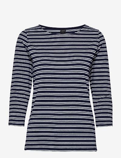 Ladies blouse, Virna - langærmede toppe - blue