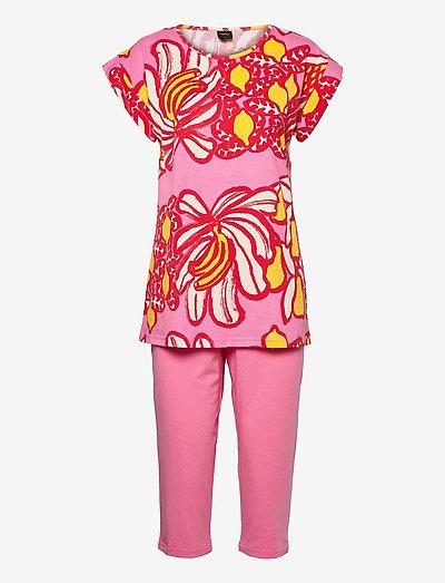 Ladies pyjamas, Samba - pyjamas - pink
