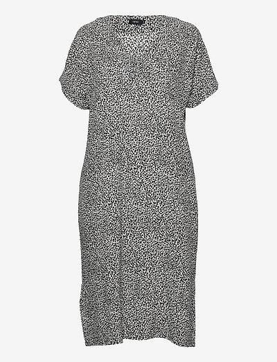 Ladies dress, Silmu - sommerkjoler - black-white