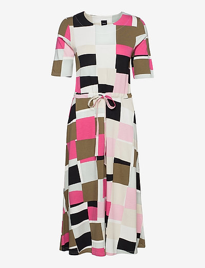 Ladies dress, Kvartsi - natkjoler - multicoloured
