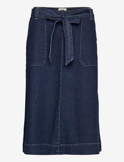 Ladies skirt, Aalto - denimnederdele - denim blue
