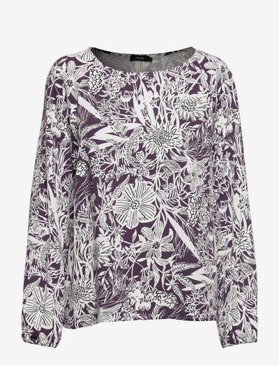 Ladies blouse, Rosanna - langærmede bluser - lilac