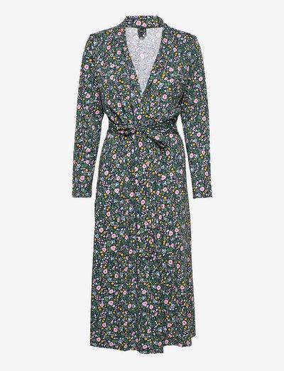 Ladies dressing gown, Mini Kissankello - hverdagskjoler - multi-coloured