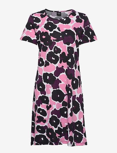 Ladies big shirt, Onerva - overdele - pink