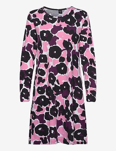 Ladies big shirt, Onerva - natkjoler - pink