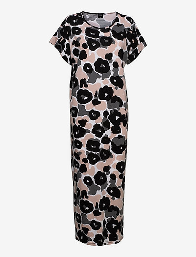 Ladies long nightgown, Onerva - natkjoler - beige